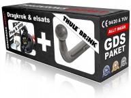 Fast dragkrok svanhals - Thule-Brink
