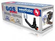Avtagbar dragkrok vertikal - Westfalia-Monoflex