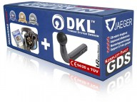 Fast dragkrok svanhals - DKL Towbar System