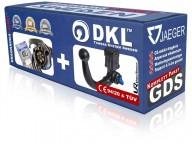 Avtagbar dragkrok vertikal - DKL Towbar System