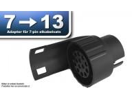 Elsatsadapter 7- till 13-polig