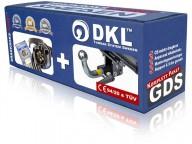 Avtagbar dragkrok horisontell - DKL