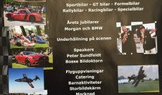 Dragkrokslagret på Halmstad Sports Car event 2016